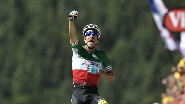 Fabio Aru gana la 5ª etapa del Tour de Francia