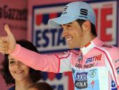 Contador en el Giro 2011