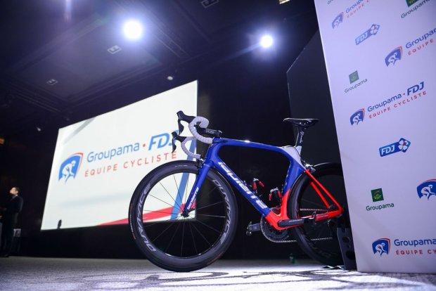 Bicicleta FDJ 2018