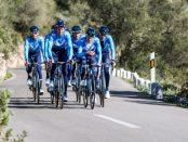 Movistar en la Vuelta a Andalucía