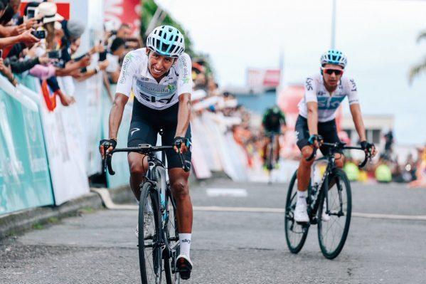 Egan Bernal en la última etapa de la Colombia Oro y Paz