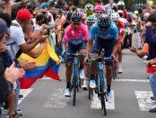 Nairo Quintana en la última etapa de la Colombia Oro y Paz
