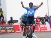 Alejandro Valverde gana la 5ª etapa del Abu Dhabi Tour