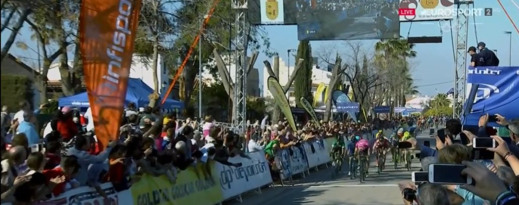 Sacha Modolo gana la 3ª etapa de la Vuelta a Andalucía