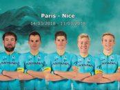 7 de Astana en la París - Niza