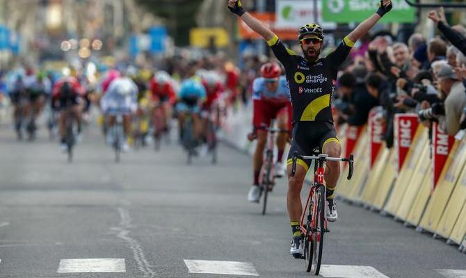 Jerom Cousin gana la 5ª etapa de la París - Niza