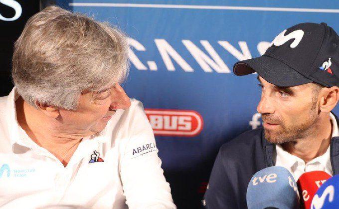 Eusebio Unzue y Alejandro Valverde