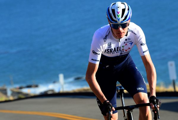 Chris Froome, vestido de Israel Start Up