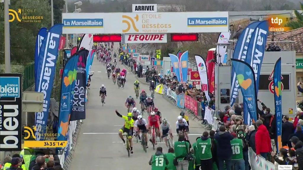 Dupont gana en la segunda etapa de Etoile de Besseges