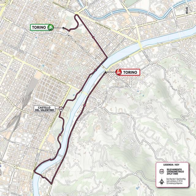 Plano etapa 1 Giro de Italia 2021