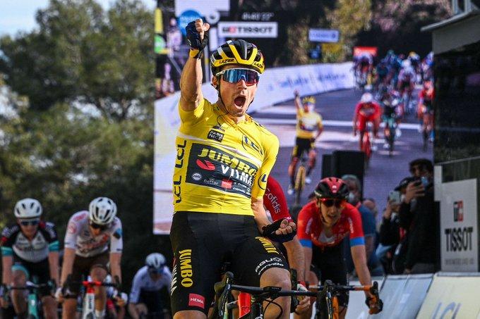Primoz Roglic se lleva la sexta etapa de la París - Niza