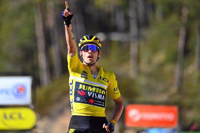 Primoz Roglic gana en la 7 etapa de la París - Niza