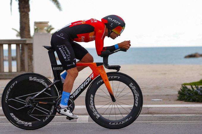 Mikel Landa en la crono de Tirreno - Adriático 2021