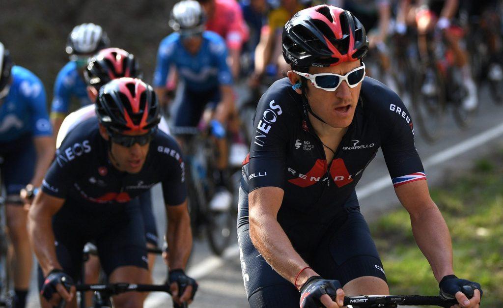 Geraint Thomas en la Volta a Catalunya