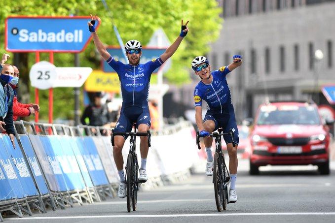 Honoré gana la 5 etapa de la Vuelta al País Vasco