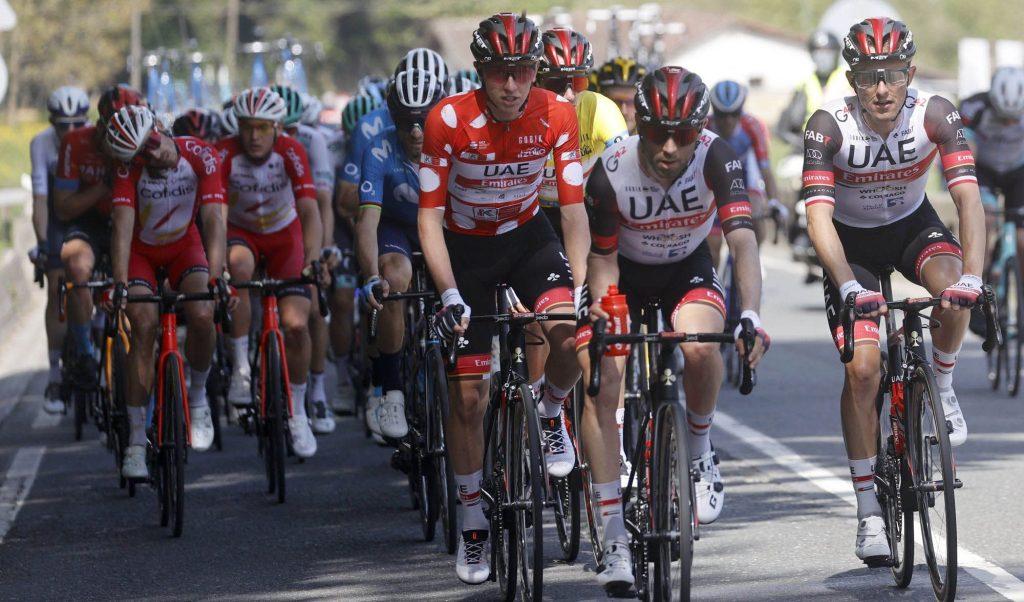 Tadej Pogacar en la Vuelta al País Vasco