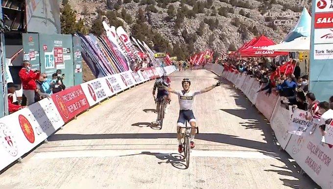 José Manuel Díaz gana la 5ª etapa del Tour de Turquía