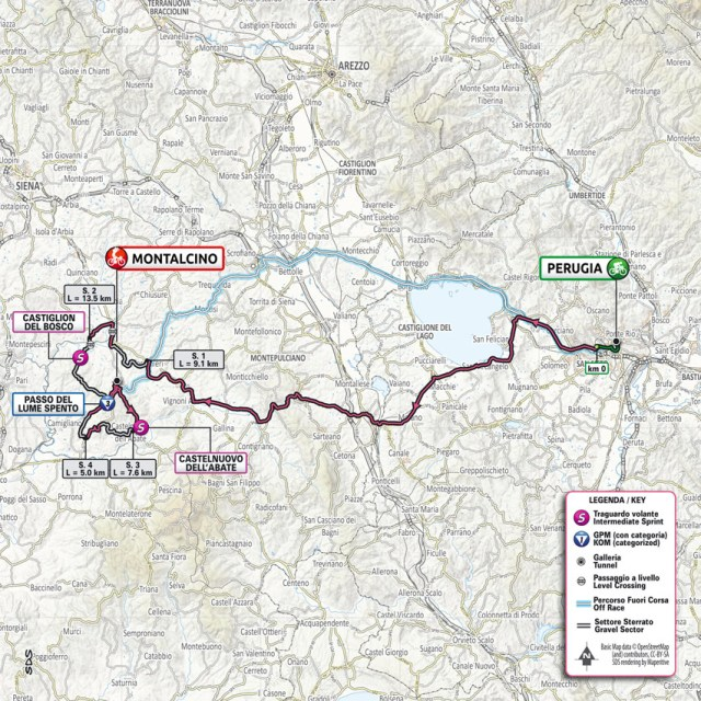 Planimetría etapa 11 Giro de Italia