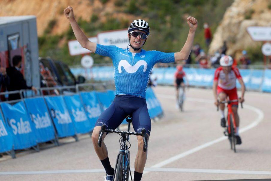 Enric Mas gana la etapa reina de la Volta a la Comunitat Valenciana