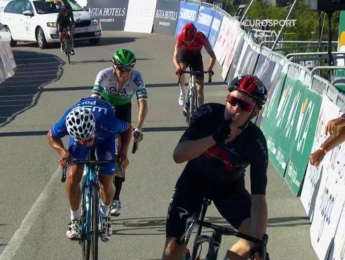 Ethan Hayter gana la 2ª etapa de la Volta al Algarve