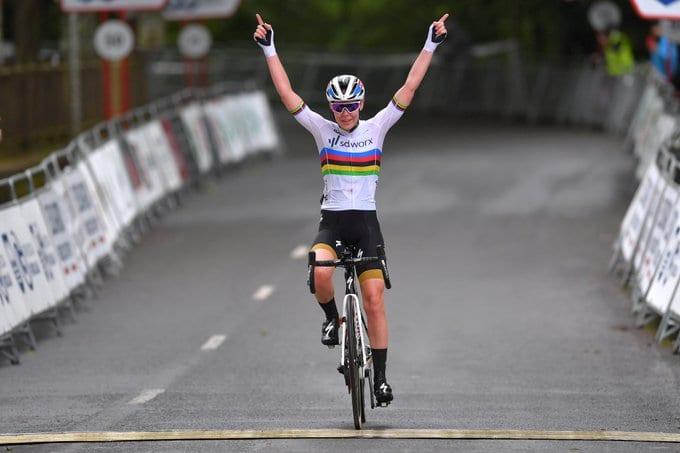 Van Der Breggen gana el GP Ciudad de Eibar