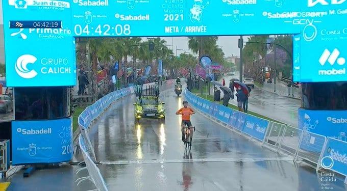 Antonio Jesús Soto gana la Vuelta a Murcia