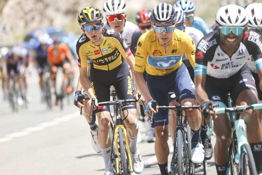 Miguel Ángel López en la Vuelta a Andalucía