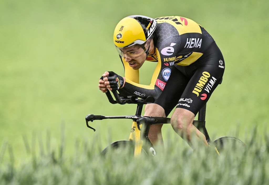 Tom Dumoulin en el Tour de Suiza