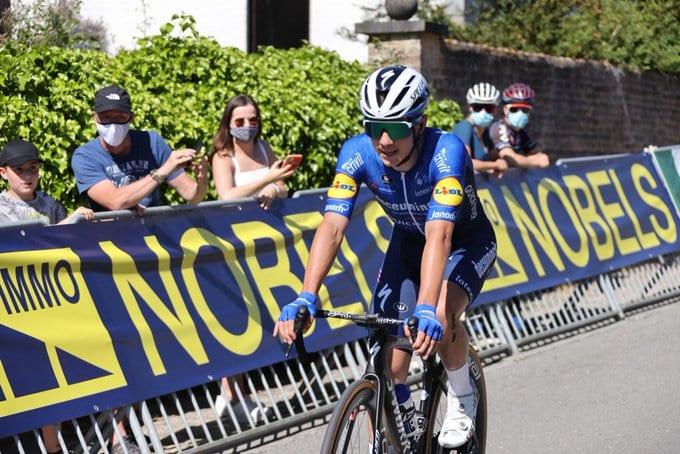 Remco Evenepoel en el Tour de Bélgica