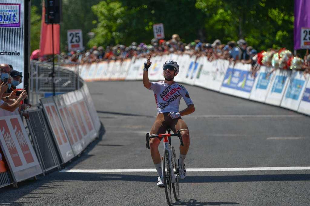 Andrea Vendrame gana la primera etapa de la Ruta de Occitania