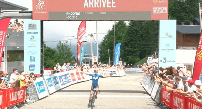 Antonio Pedrero gana la etapa reina de la Ruta de Occitania