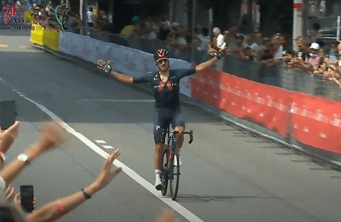 Gianni Moscon gana el GP de Lugano