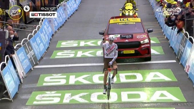 Ben O´Connor gana la novena etapa del Tour de Francia