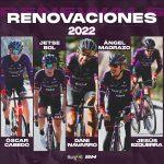 Bol, Cabedo, Ezquerra, Madrazo y Navarro renuevan con el Burgos BH