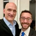 Photo of Tom Moss and Daniel Epstein.