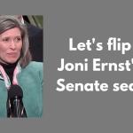Let's flip Joni Ernst's Senate seat