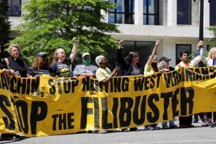 Stop the Filibuster Protest