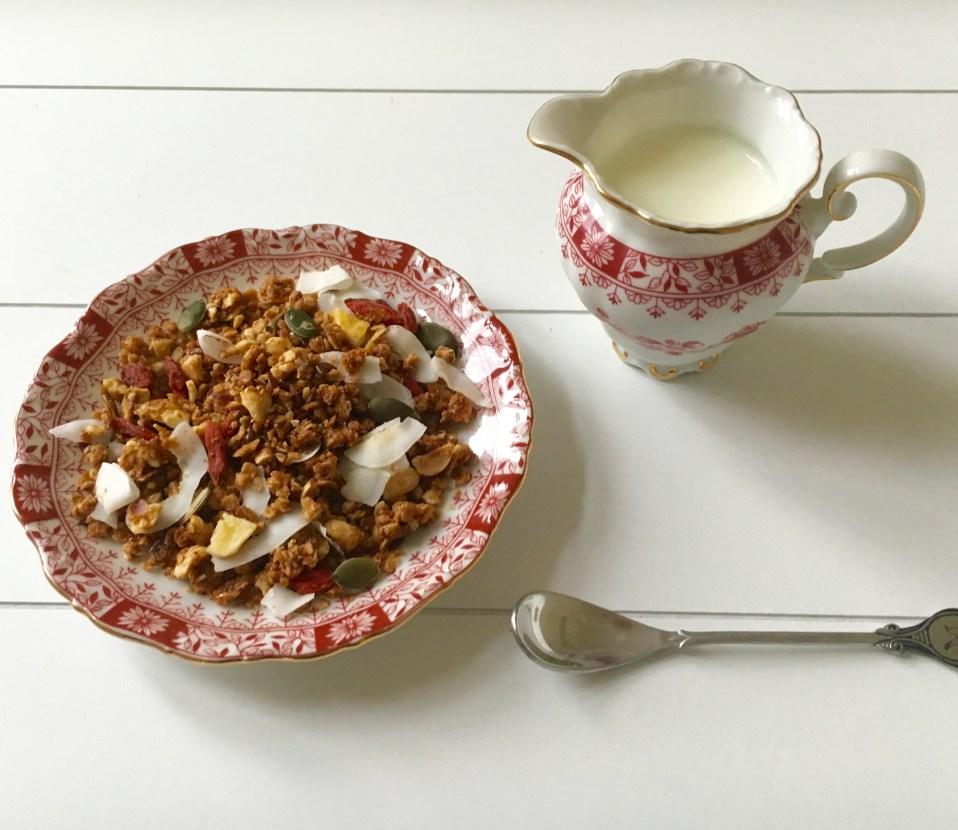 superfood: granola uit eigen tuin