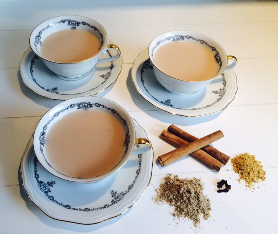 recept voor snelle chai tea latte