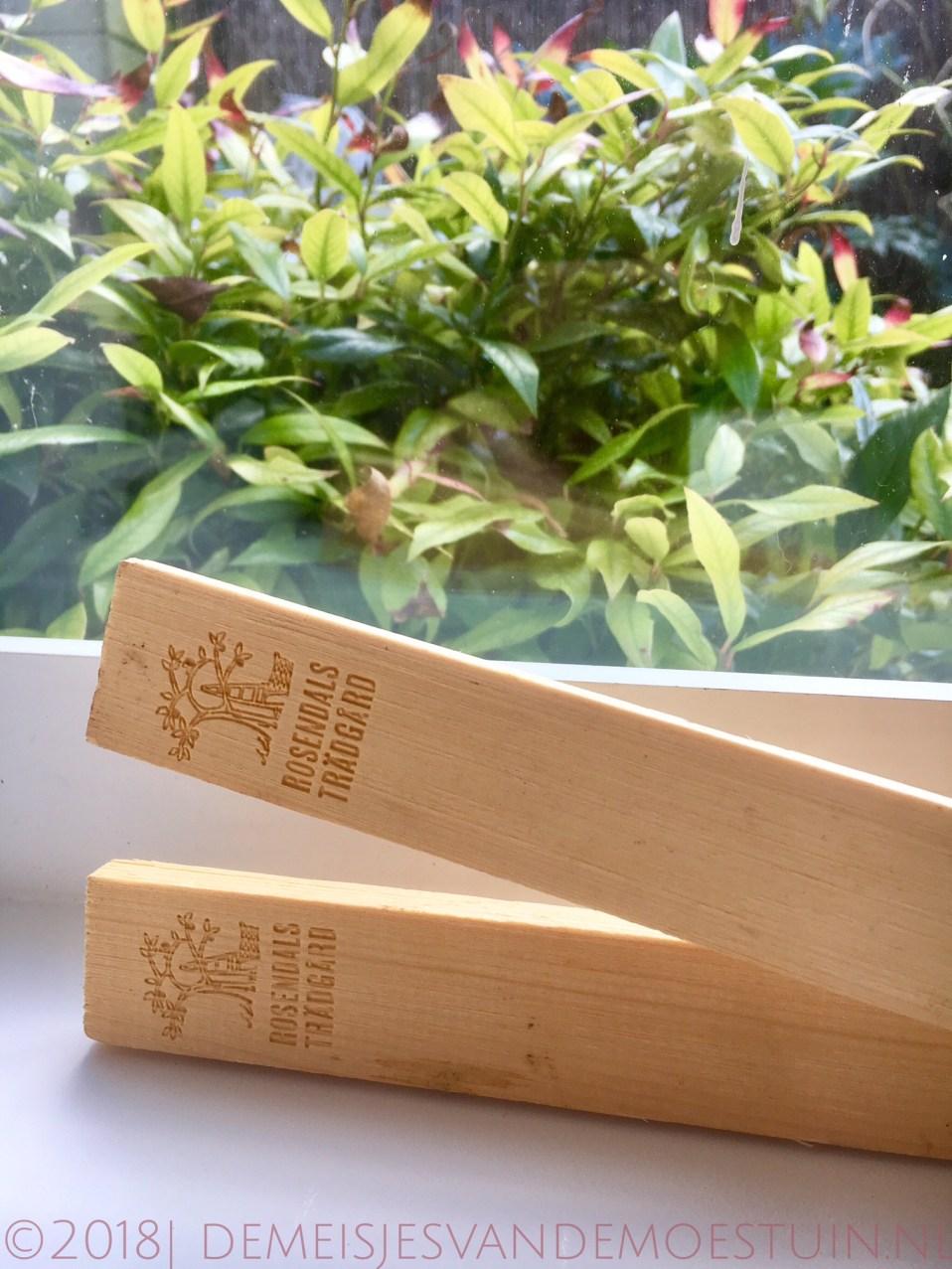houten plantenstekers