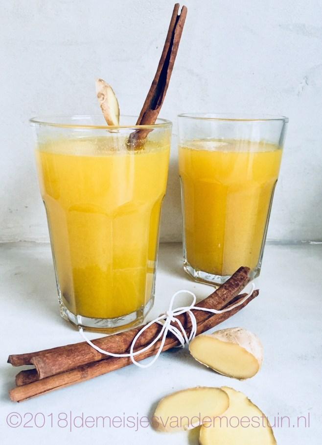 ayurvedische sinaasappelthee