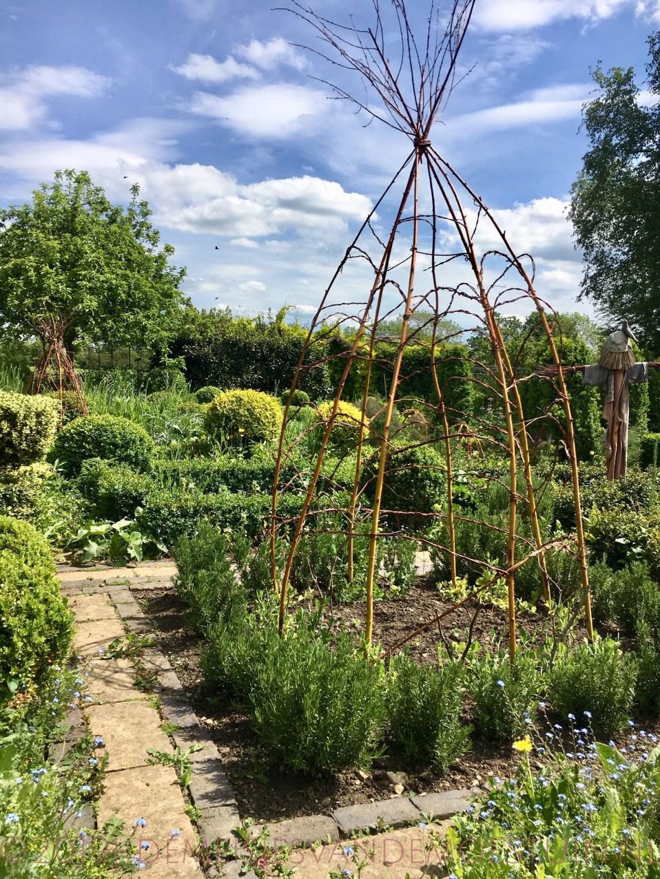 een potager tuin