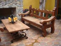 Spanish Style Outdoor Benches | Zef Jam
