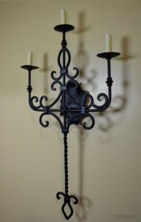 San Miguel Sconce, Scrolled Wall Sconce - Demejico