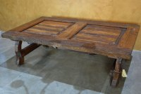Yugos Rustic Old Door Coffee Table - Demejico