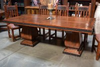 Old Wood Gitana Table, Spanish Style Dining Table - Demejico