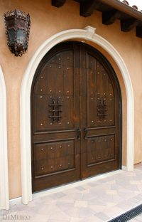 Rustic Doors, Rustic Double Doors, Custom Door - Demejico