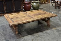 Rustic Old Door Coffee Table, Mesa Yugos - Demejico