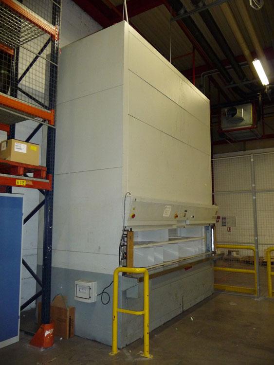Dmnagement industriel  Machines