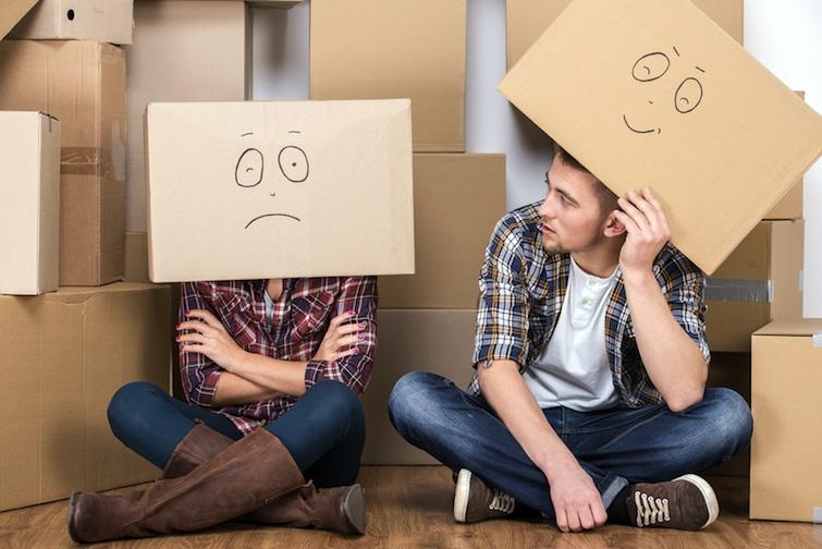 dépression post déménagement